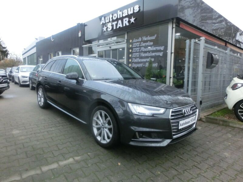 Audi A4 AVANT Design S-LINE / HEAD UP - ALCANTARA