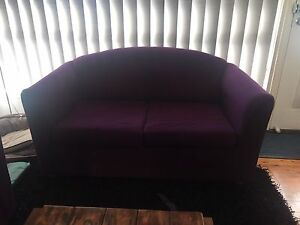 Lounge and sofa bed grape Revesby Bankstown Area Preview