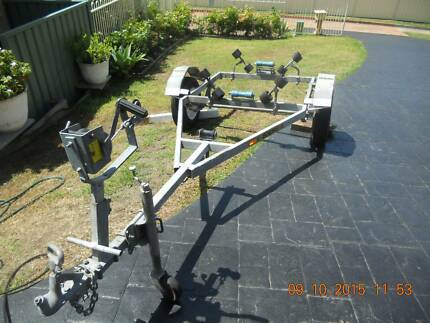 BOAT TRAILER   GALVANIZED, EXCELLENT RUSTFREE CONDITION Morisset Lake Macquarie Area Preview
