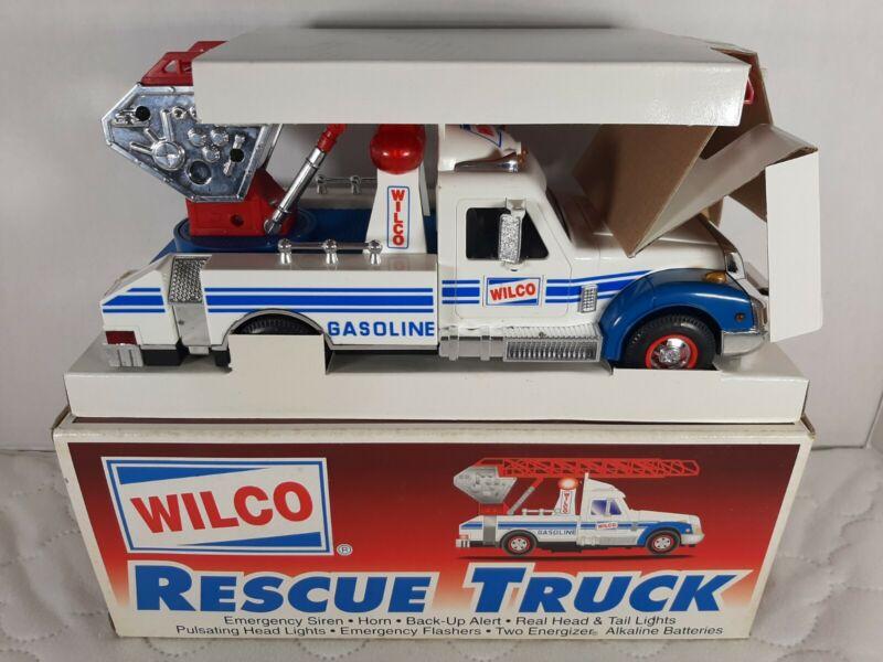 Wilco Gasoline Rescue Truck w/ lights & sound toy 1995 VGC in Box