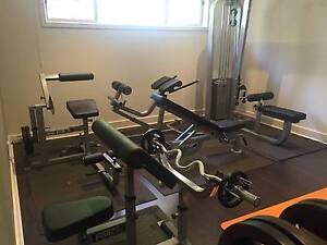 """Gym equipment - immaculate """"as new"""" semi-commercial grade. Pakenham Cardinia Area Preview"""