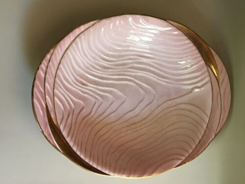 Rare design 1920s - 1930s Carlton ware embossed Art Deco fruit bowl