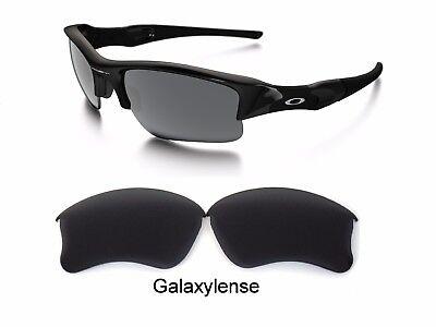Galaxy Replacement Lenses For Oakley Flak Jacket XLJ Sunglasses Black Polarized (Flak Jacket Replacement Lenses)