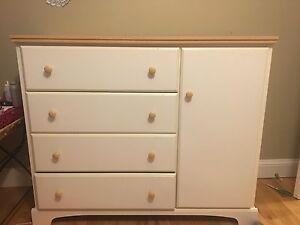 Large wooden dresser 100$ OBO