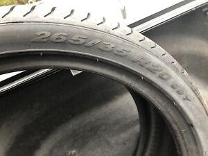 New take off 265-35-20 Pirelli Pzero performance tires
