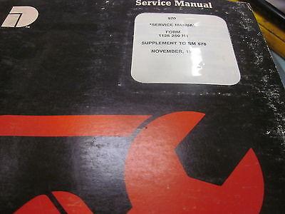 Dresser 570 Loader Supplement Service Manual