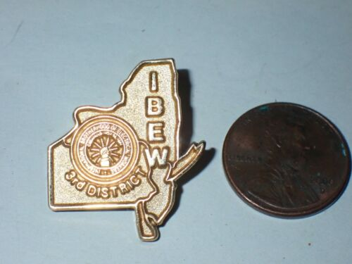 IBEW Collectible Lapel Pin 3rd District