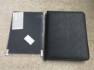 Leather iPad Case with Screen Protector
