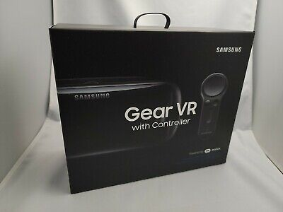 Samsung Gear VR Headset & Controller OEM - Compatible w/ Galaxy S9+, Note 8