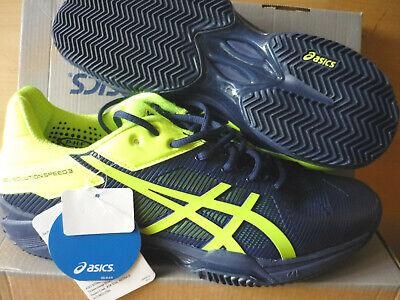 Asics Gel-Solution Speed 3 clay,E 601N 4907,Herren indigo blue,neu UVP 150 € Asics Gel Solution Speed