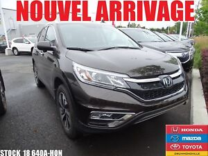 2016 Honda CR-V TOURING+GARANTIE PROLONGÉ GLOBAL+GPS+MAG+++