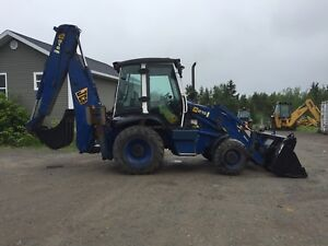 2003 JCB 215 BACKHOE FOR SALE MINT CONDITION