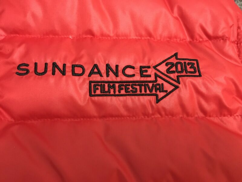 Sundance Film Festival 2013 Kenneth Cole Down Vest Puffer jacket XL