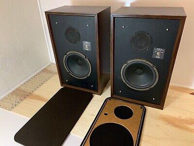Avid Model 100 - Pair of (2) Floor Two-Way Audiophile Speakers Vintage Tested OK