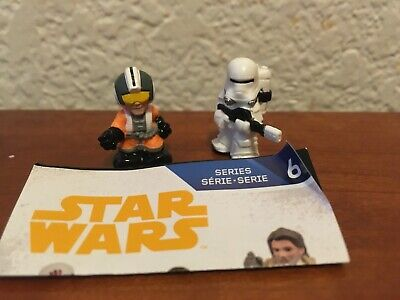 Star Wars Micro Force Series 6 Wedge Antilles & First Order Flametrooper