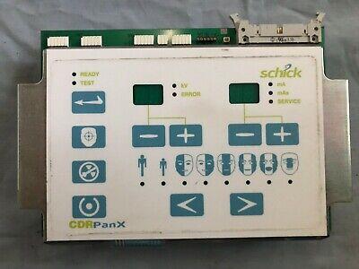 Schick Cdr Panx Panoramic Digital Dental X-ray Control Panel