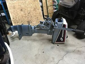 Evinrude 4.5 hp  long shaft