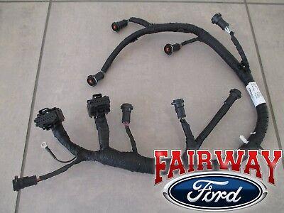 05 thru 07 Super Duty F250 F350 F450 OEM Ford Fuel Injector Wiring Harness 6.0L