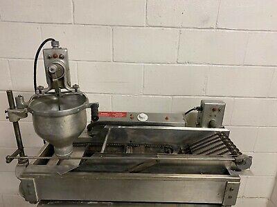 Belshaw Dr42 Automatic Cake Doughnut Robot Fryer 208 Volt 1 Phase Tested