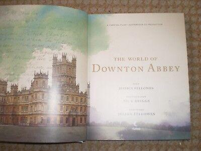 The World of Downton Abbey by Jessica Fellowes (Hardback, 2011), usado segunda mano  Embacar hacia Mexico
