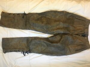 Vintage women's motorcycle pants