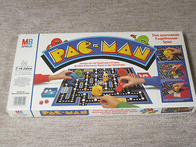 VINTAGE PAC-MAN 1982 Milton Bradley Board GAME - German Version - Complete RARE