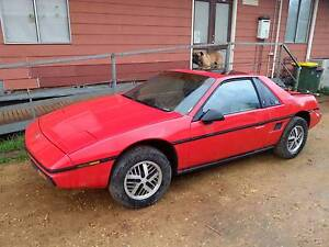 1984 Pontiac Fiero, LHD for resto, parts,kit car conversion $1750 Gawler Gawler Area Preview
