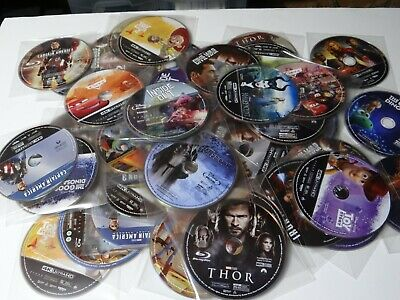 Disney/Marvel/Pixar 4K or Bluray Discs Toy Story, Iron Man, Thor, and More