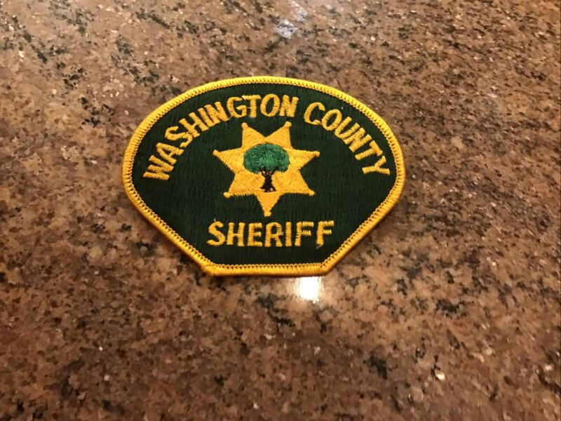 Washington County Tennessee Sheriff Patch New Old Stock