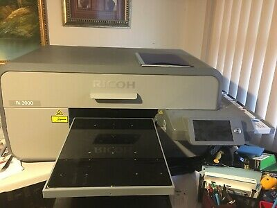 Anajet Ricoh Ri 3000 Dtg Direct To Garment Printer T-shirt Apparel Printing