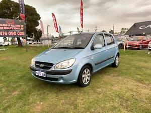 2008 HYUNDAI GETZ SX 1.6L 5 DOOR HATCHBACK AUTOMATIC FREE WARRANTY Kenwick Gosnells Area Preview
