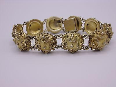 wunderschönes altes Armband Silber 830 punziert C.G. Hallberg Stockholm ~1907
