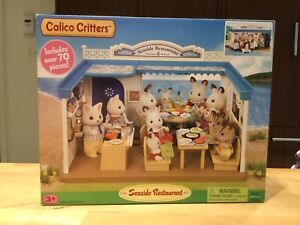 New! Calico Critters Seaside Restaurant incl. 70 pieces