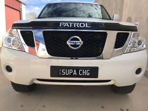 Nissan patrol ST-L Y62 (supercharged)