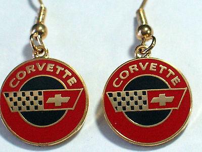 Corvette Earring - Chevrolet Corvette Earrings  , (**)