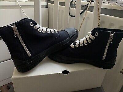 Navy Julien David Shoes Sneakers Size EU38 UK5