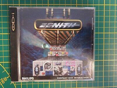 RARE RETRO GAME ZENITH PHILIPS CD-i CDI 450 DVC CONSOLE COMPLETE BOXED BOITE