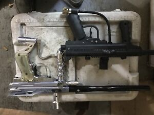 two paintball markers plus extras