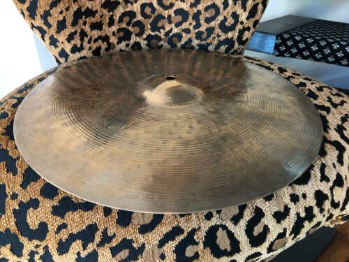 "K. Zildjian Canadian 16"" Medium Crash (Hand Hammered) Rare Vintage Excellent!"