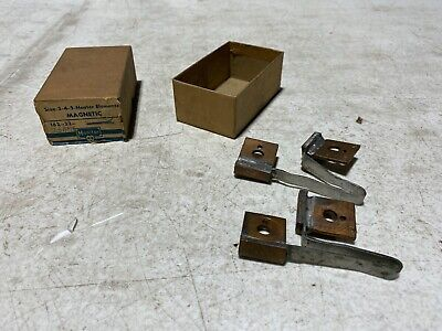 Set Of 2 Monitor 162-32-25amp Size 3-4-5 Heater Elements Magnetic Nos