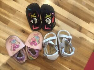 Size 4t girls shoe lot