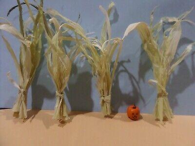Corn Stalks 4  Dollhouse Miniatures Gailslittlestuff 1:12 scale
