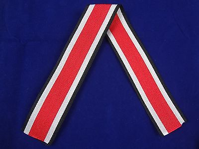 Reproduction German WWII Iron Cross 2nd Class Ribbon - EKII - 1 Ft = 30 CM