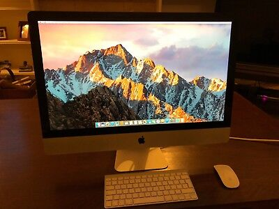 "Apple iMac 27"" Desktop - (Late 2009)***MEMORY UPGRADED TO 12Gb***"