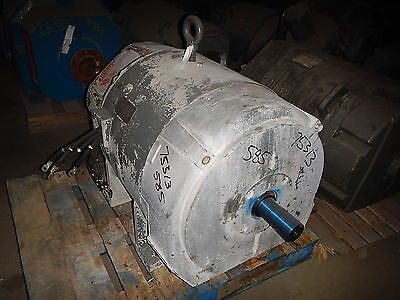 200 Hp Dc Westinghouse Electric Motor 1200 Rpm 585as Frame Dpvf 500 V