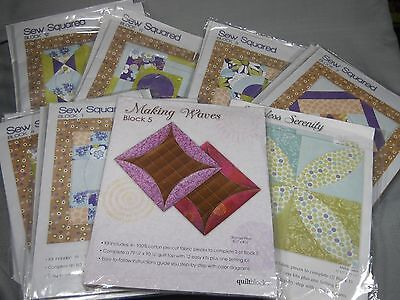 Jo Ann Quilt Block Of The Month Sew Squared Quiltblocks 100  Cotton Square 16 5