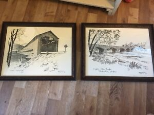 Flynn prints with authenticity cert