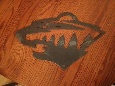 Minnesota Wild Metal Art