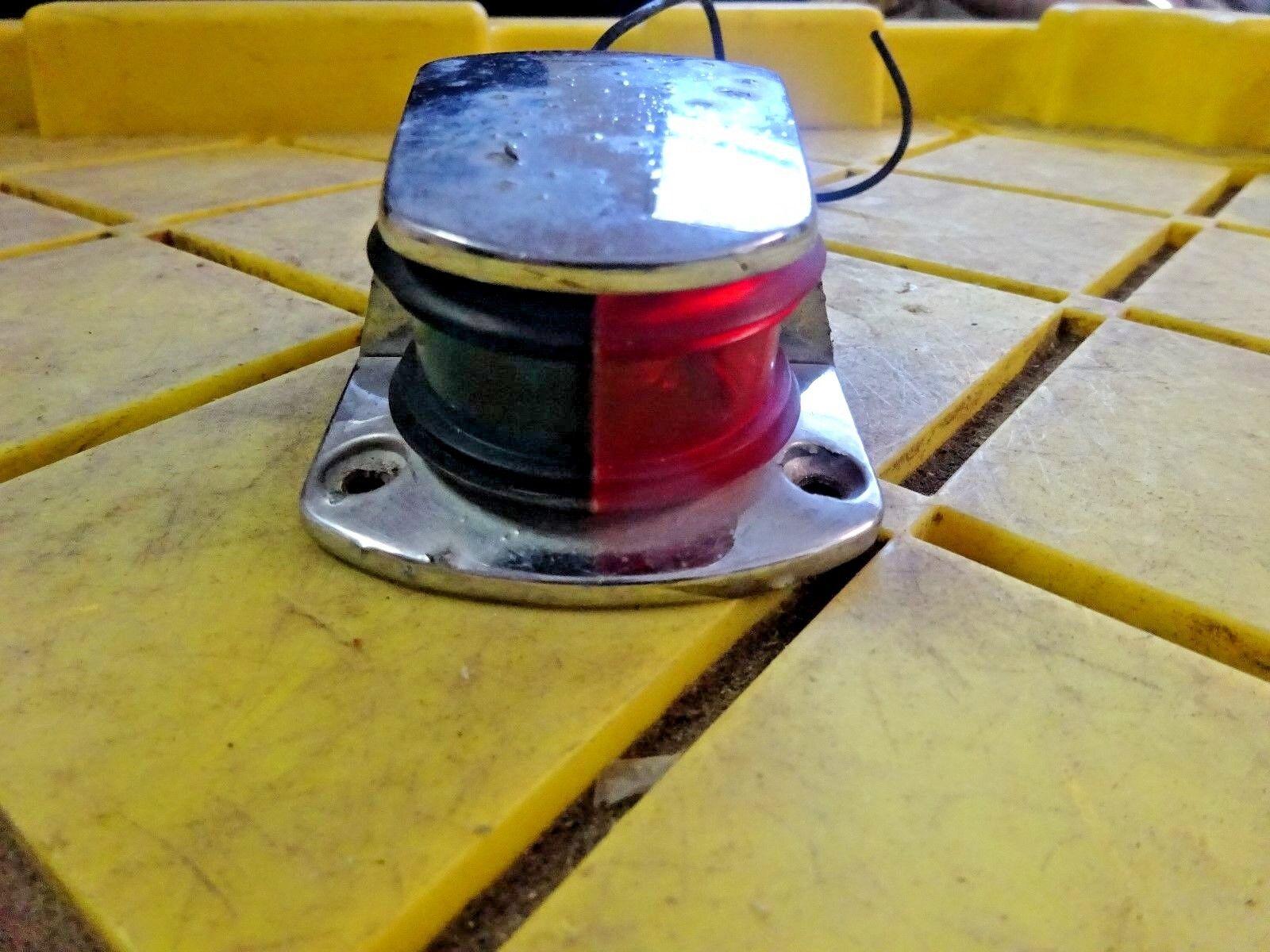 Boat Bow Light Red Green Combination Sea Sense 50023872