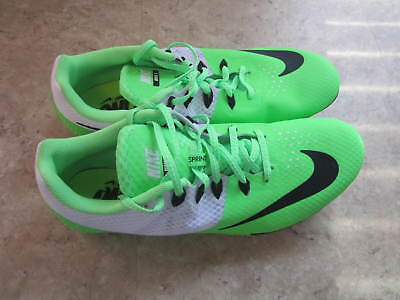 936377edb95 Nike Zoom Rival S8 Mens Track Spikes 806554-300 Voltage Green White Size 11  New